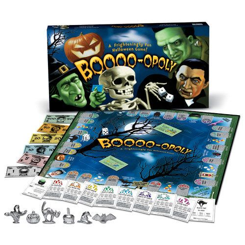 Late for the Sky Boo-opoly Board Game Games  Puzzles  Walmart