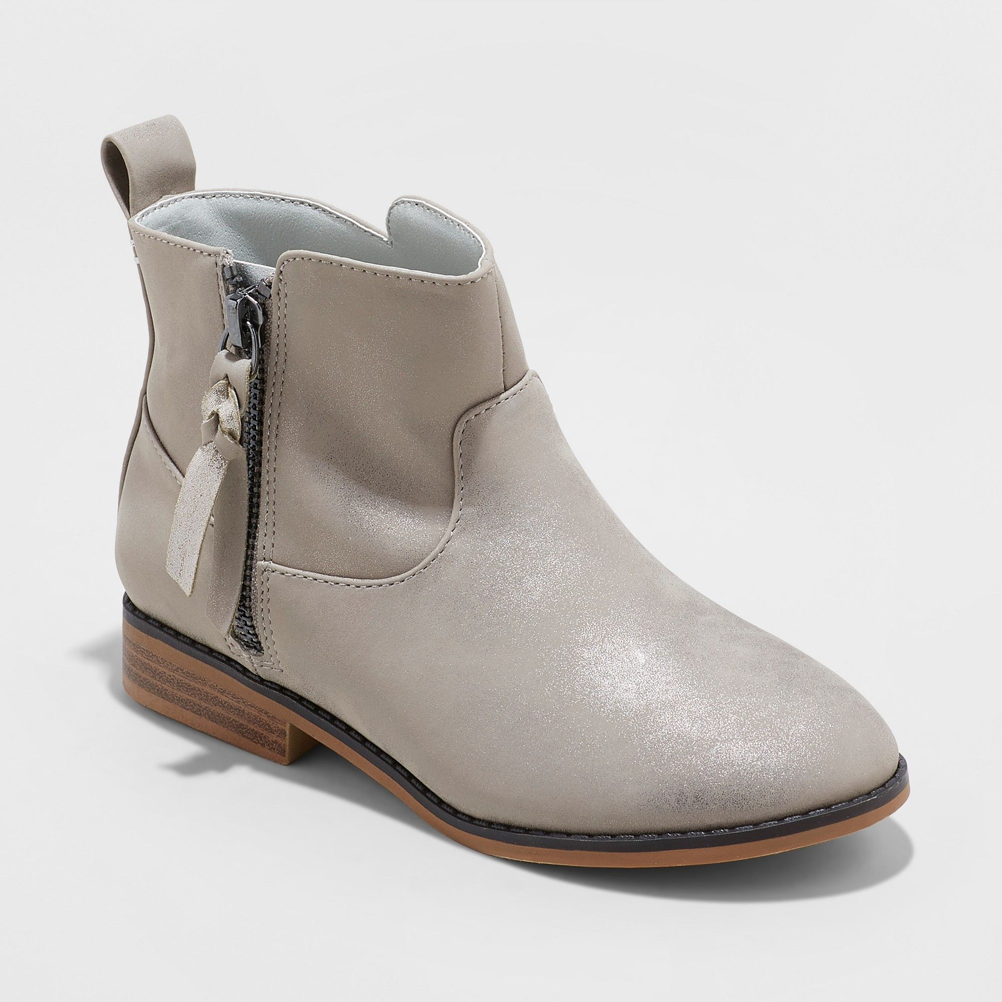 50fb058b5 Girls' Asha Western Fashion Boots - Cat & Jack Gray 6   Products ...