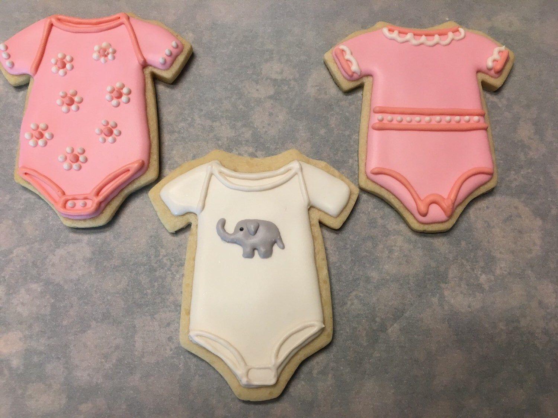 Baby shower sugar cookies by sugarbellsbakery on etsy