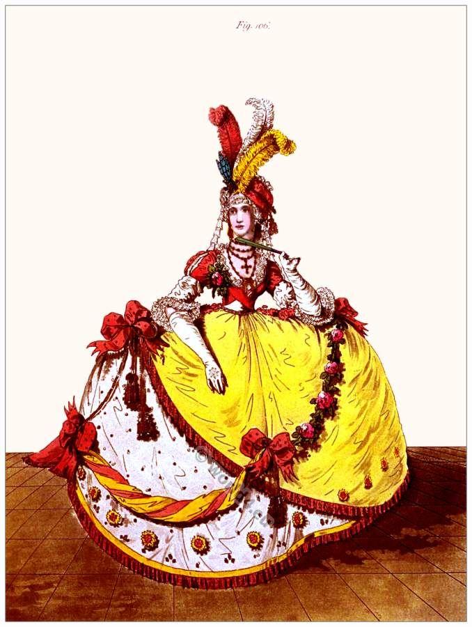 Georgian Court Dress, July 1796 | world4.eu/history-of-costumes ...