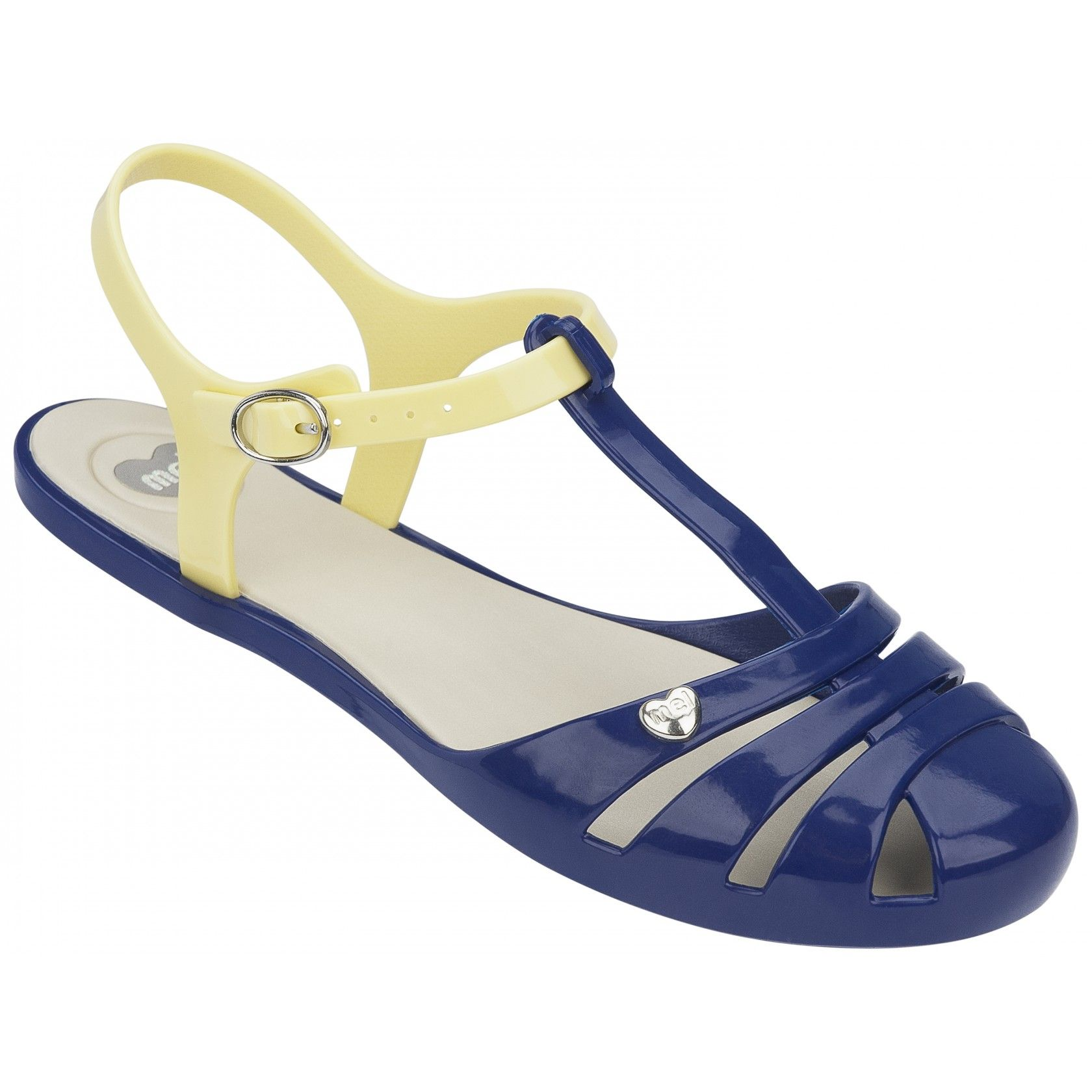 Mel Dreamed By Melissa Marshmellow Navy Sandals Www Melshoes Com Mel Shoes Navy Sandals Melissa Shoes