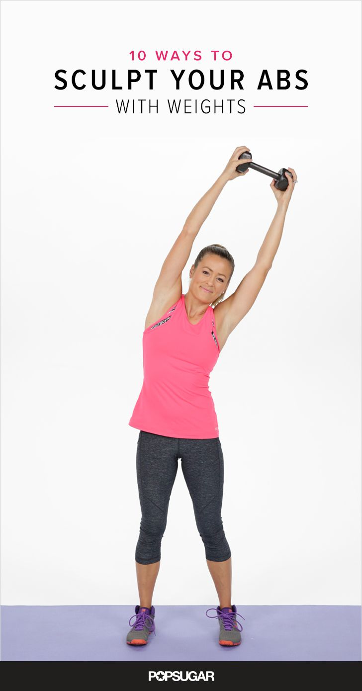 Skip the Crunches: 10 Ways to Sculpt Your Abs With Weights