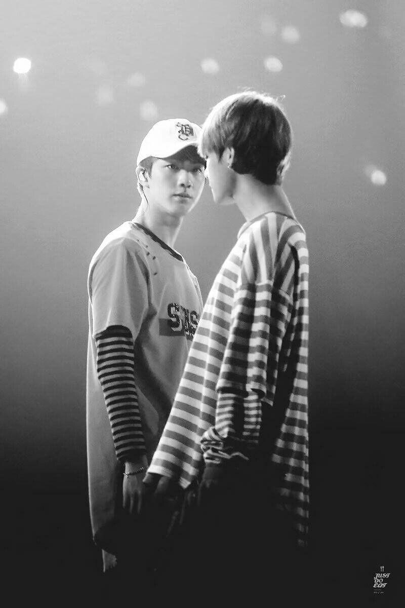 Taejin black and white photo