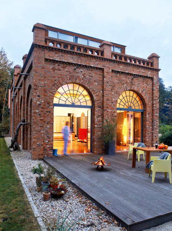 Architektenhäuser: Umgebaute Gewürzmühle | Architecture ... - Renovation Terrasse
