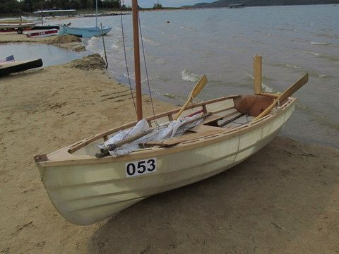 skin on frame skiff - Google Search | jolla | Pinterest | Boating ...