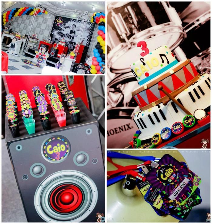 Music Themed Party Decorations Ideas Part - 50: Music Themed Party Full Of Awesome Ideas