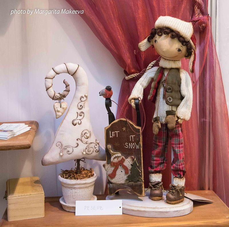 """The exhibition """"Art Dolls"""", Moscow - Forum"""