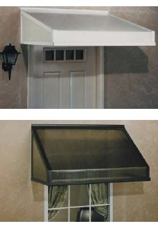 Moble Home Over The Door Awnings