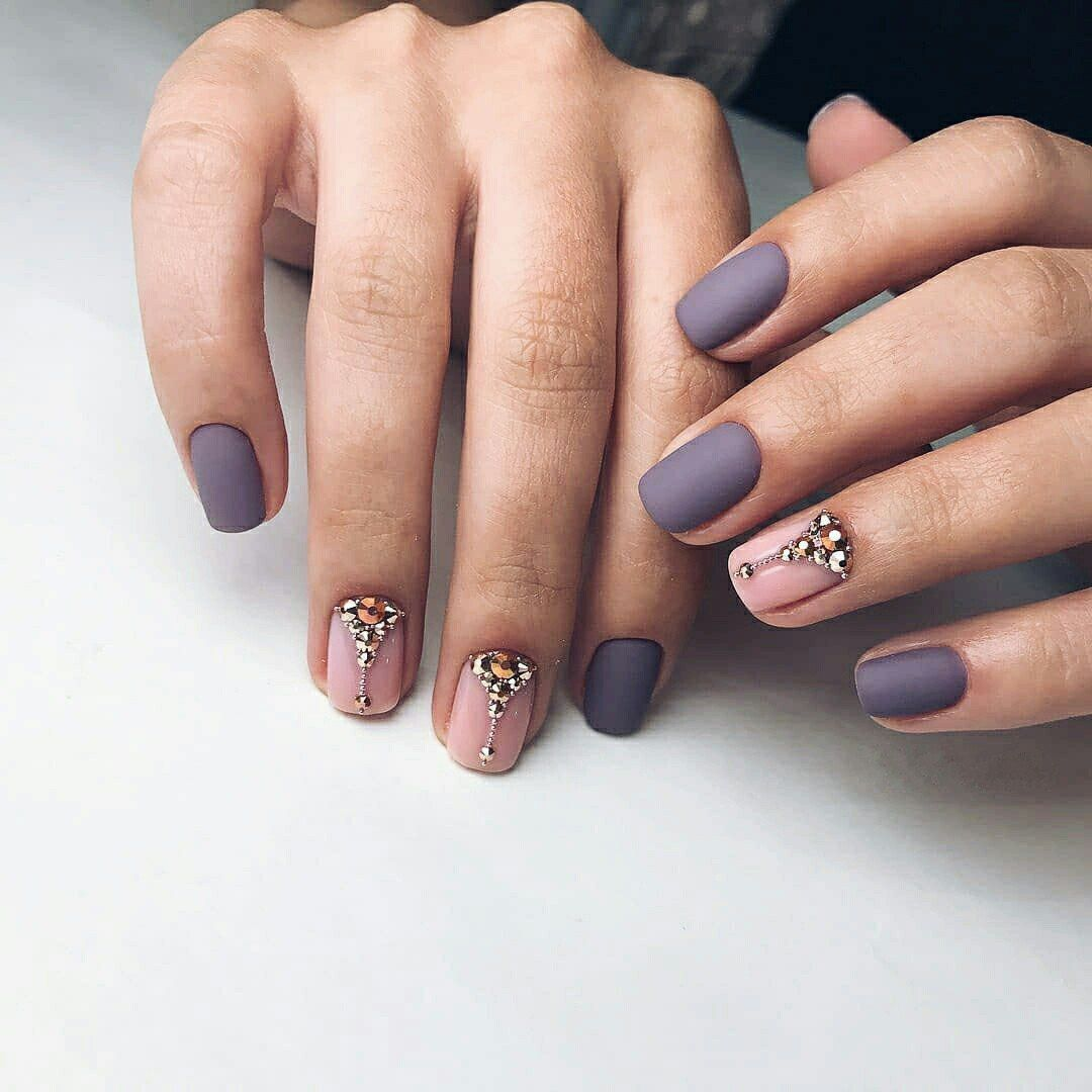 Winter Nail Designs 2018 Cute And Simple Nail Art For Winter