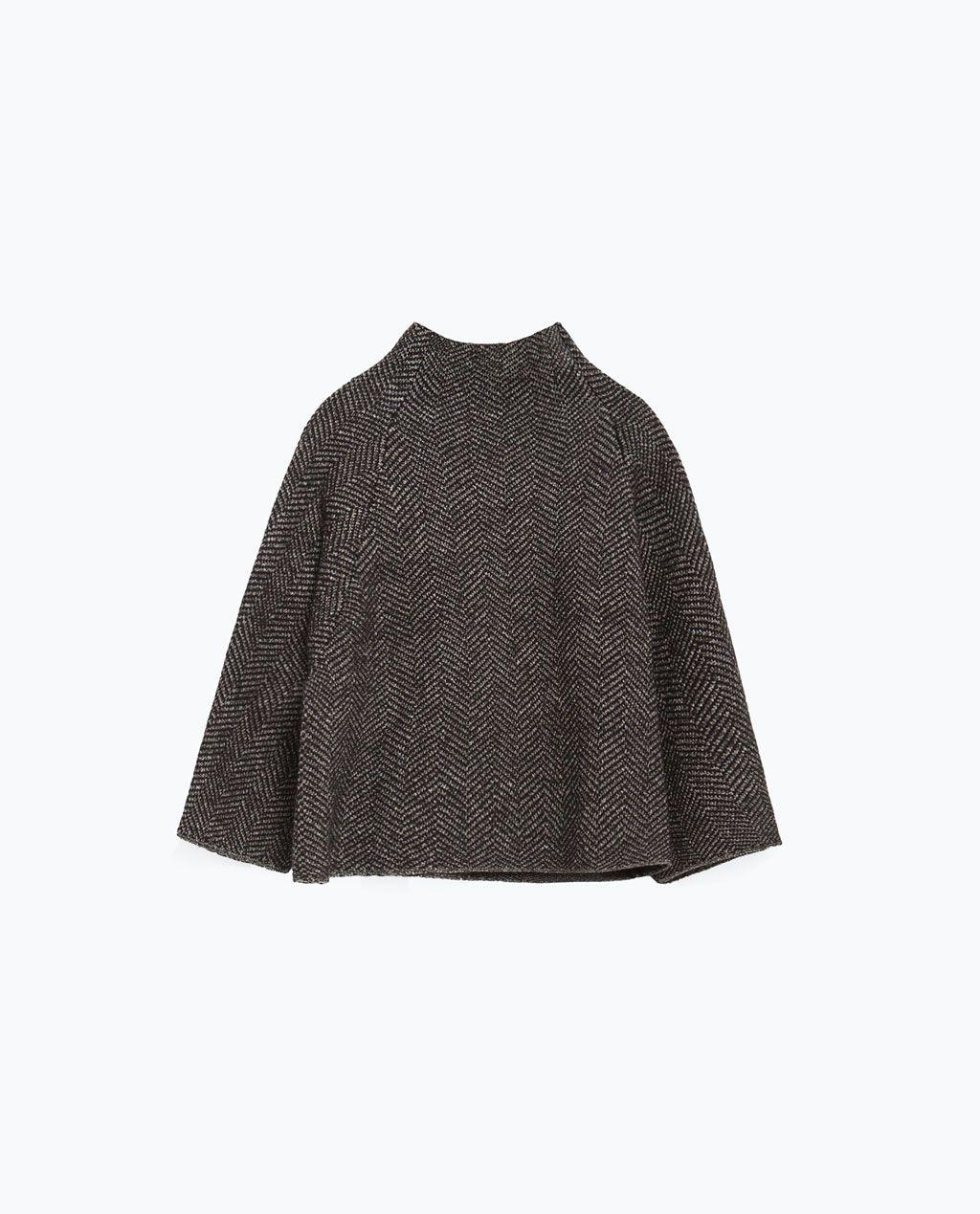 ヘリンボーンセーター-セーター-ニット-レディ-ス   ZARA 日本
