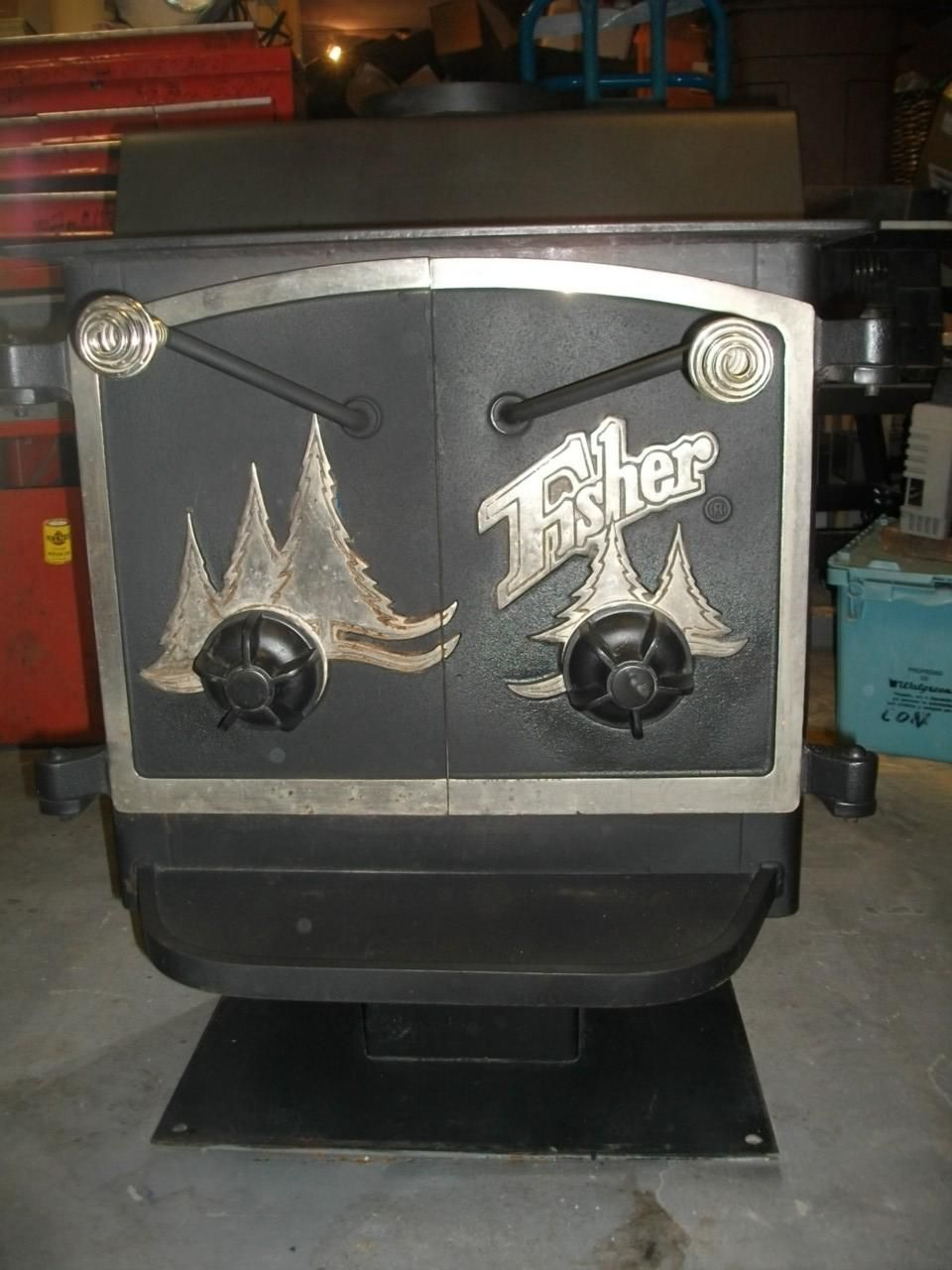 FISHER GOLDILOCKS WOOD STOVE, this is so different I really love ...