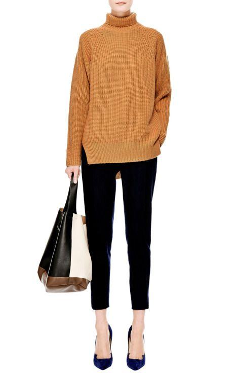 Rib-Knit Cashmere Turtleneck by Rochas - Moda Operandi
