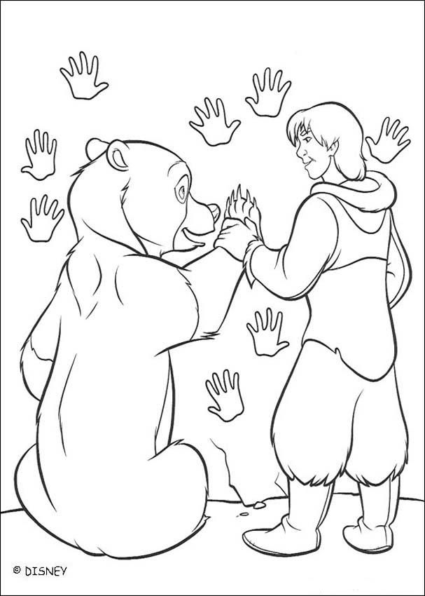 Brother Bear 40 Coloring Page Bear Coloring Pages Disney Coloring Pages Cool Coloring Pages