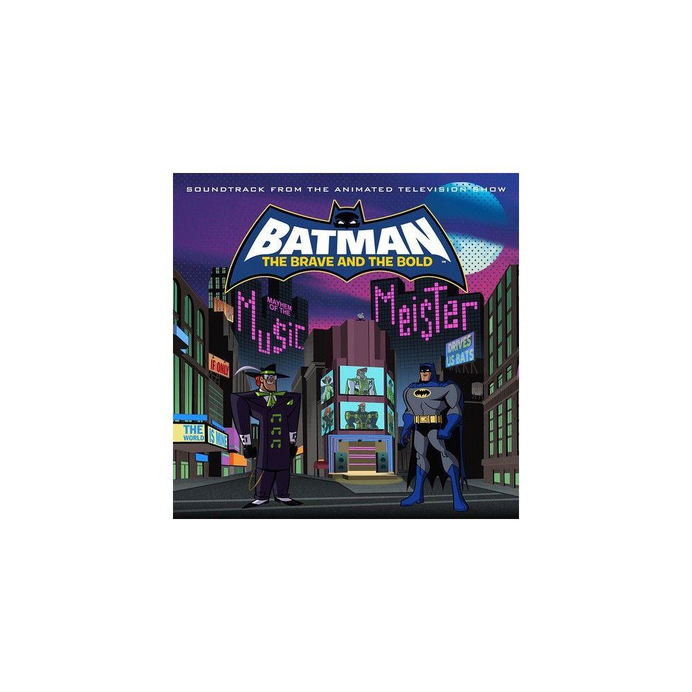 Original Score Batman Brave The Bold Mayhem Of The Music