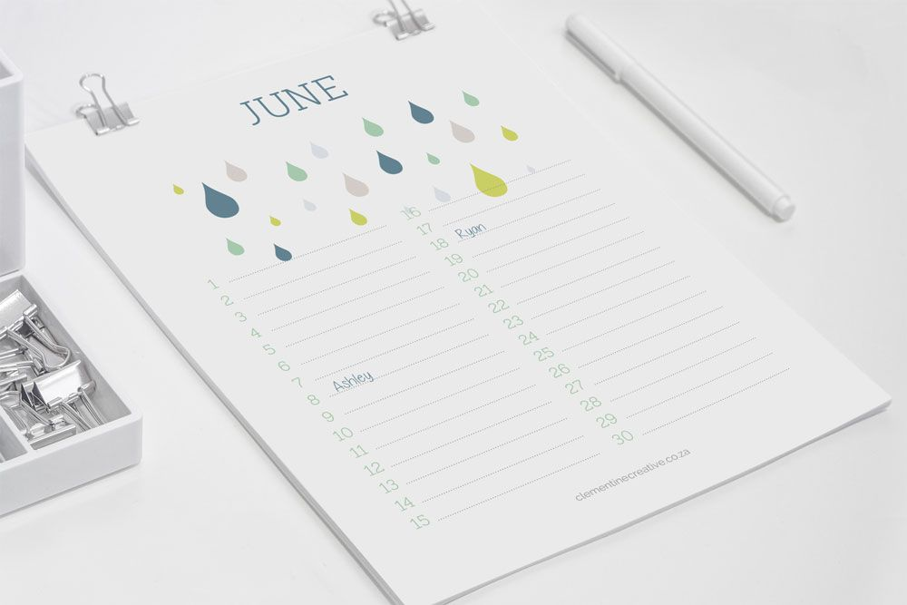 On this colourful printable birthday / perpetual calendar you will - perpetual calendar template
