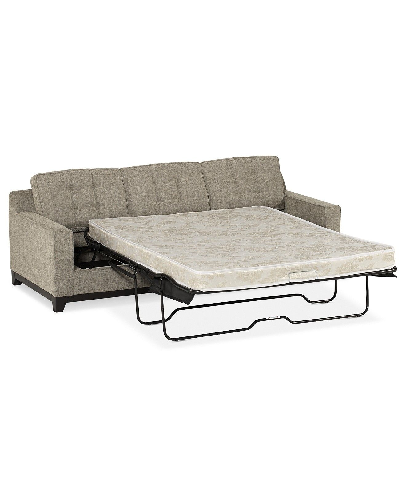 Clarke Fabric Queen Sleeper Sofa Bed Couches Sofas Furniture Macy S Sofa Couch Bed Sofa Bed Queen