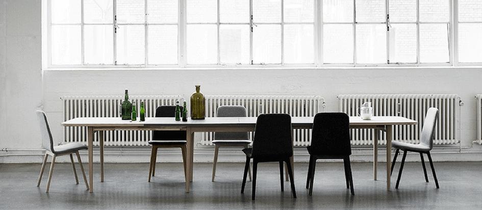 Scandinavian Extendable Sm28 Dining Table Kuhl Home Singapore