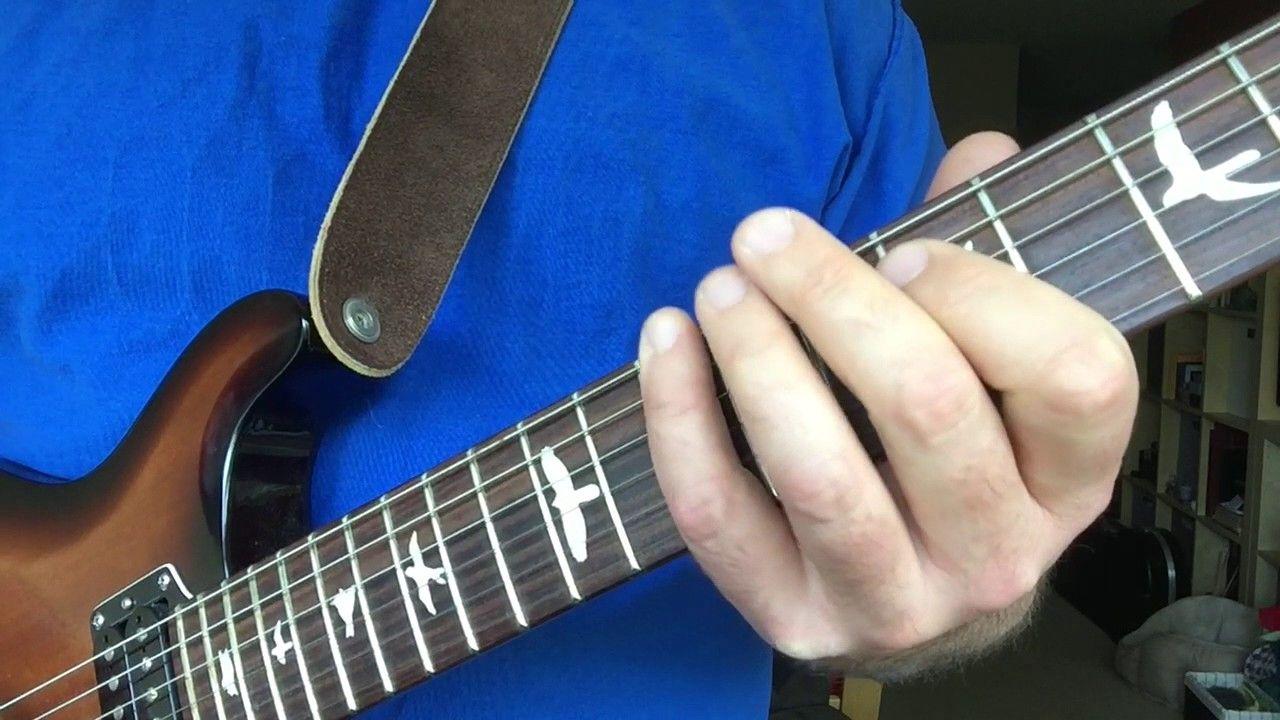 how to play b minor pentatonic on guitar