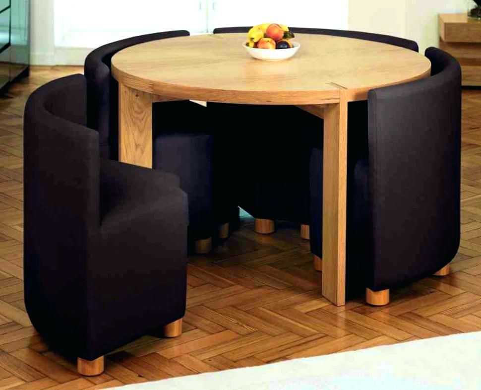Foldable Dining Table And Chairs Tables Comely Folding Inside Set