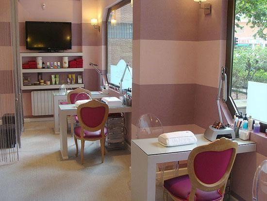 mi sal n de belleza favorito ideas para salon de u as nails rooms pinterest couture sal n. Black Bedroom Furniture Sets. Home Design Ideas