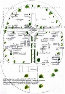 Highgate Cemetery Map Map of Highgate Cemetery, London | England   Highgate & Hampstead  Highgate Cemetery Map