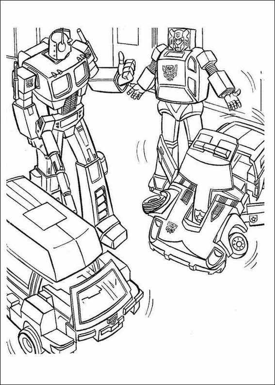 Transformers Printable Coloring Pages red transformer Colouring - new coloring pages for rescue bots