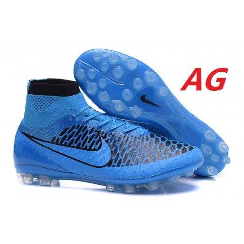 new arrival cd339 05ac4 ... butikk nike magista obra ag fotballsko for herre blå svart nike magista  sko til