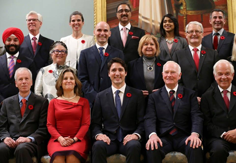 O Canada.....What a cabinet of ministers: Minister of Health is a doctor. Minister of Transport is an astronaut. Minister of National Defense is a Sikh Veteran. Minister of Youth is under the age of 45. Minister of Agriculture and Agri-Food is a former farmer. Minister of Public Safety and Emergency Preparedness was a Scout. Minister of Innovation, Science and Economic Development was a financial analyst. Minister of Finance is a successful businessman. Minister of Justice was a crown…
