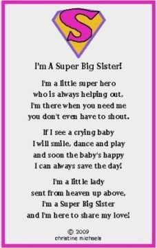 From Big Sister To Little Sister Poems Google Search Family
