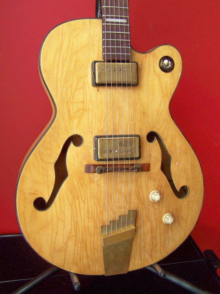 details about supro ozark 50 39 s rare vintage electric guitar recent price reduction furniture. Black Bedroom Furniture Sets. Home Design Ideas