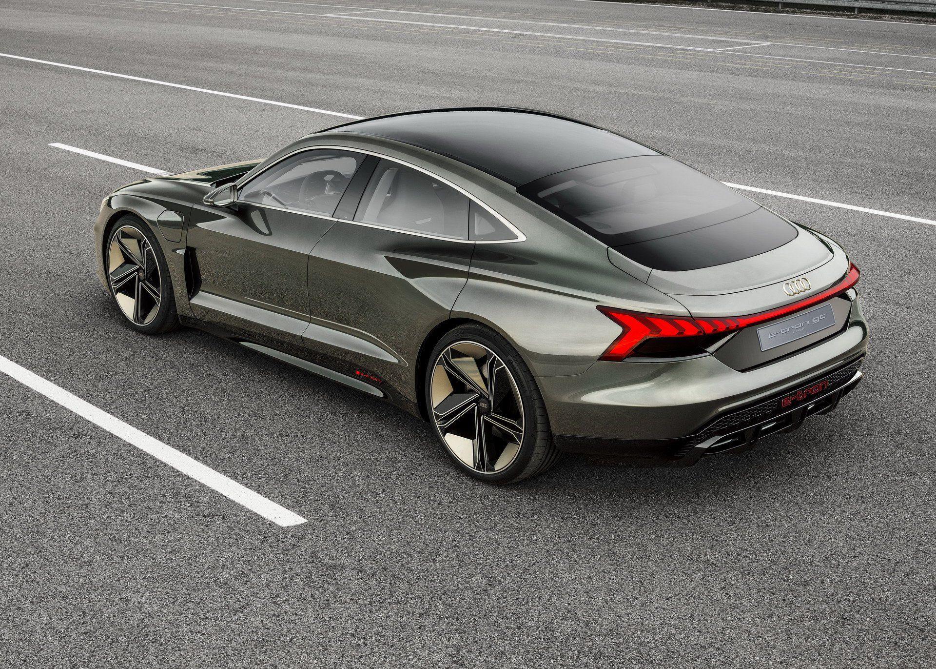 Audi E Tron Gt Is An Electrifying Super Sedan That S Coming In 2020 Carscoops Audi E Tron E Tron Audi Cars