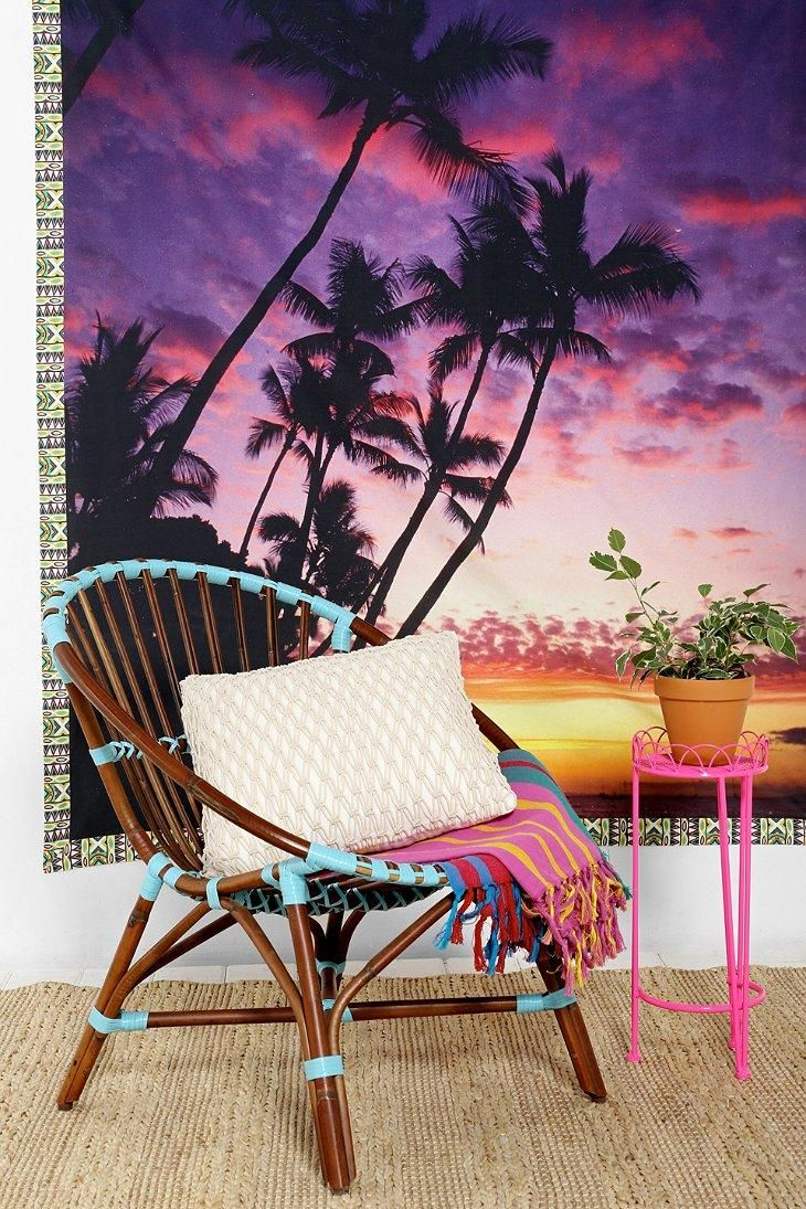 Palm Tree Bedroom Furniture Plum Bow Palm Tree Tapestry Trees Chairs And Wall Tapestries