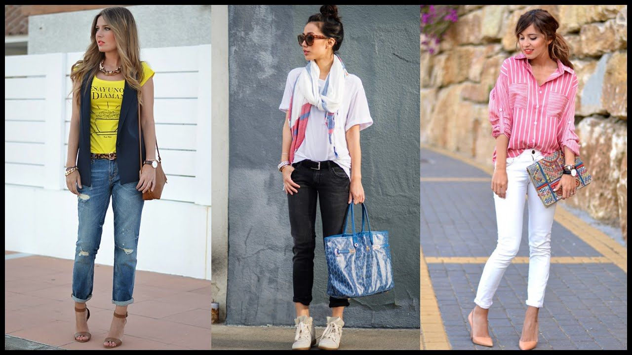 How to Wear Lovely Spring Street Style Outfits - YouTube