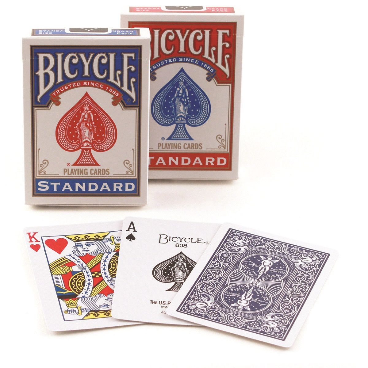 Bicycle Standard Index Playing Cards 2Pack (With images