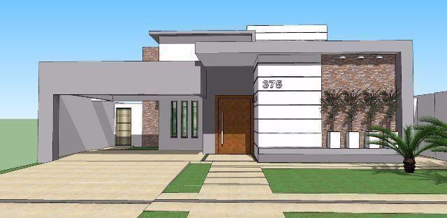 Casas de condominio terreas pesquisa google fachada for Fachada de casas modernas grandes