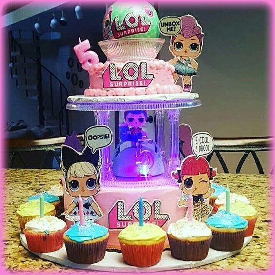 Porta Cupcake Para Fieta De Nina