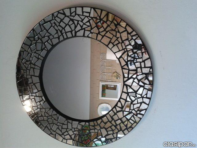Espejos decorativos buscar con google espejos for Espejos rectangulares para sala