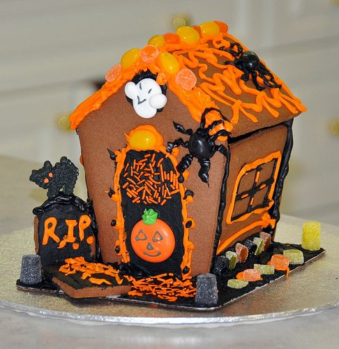 Halloween Gingerbread House   Google Search