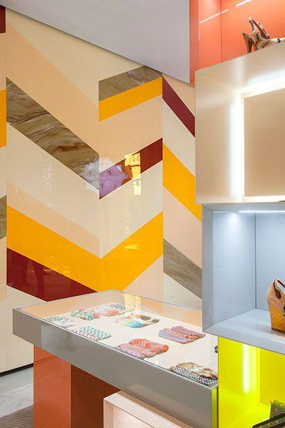 Missoni Flagship Store Milan Italy Designed By Patricia Urquiola Best Interior DesignInterior Design MagazineRetail