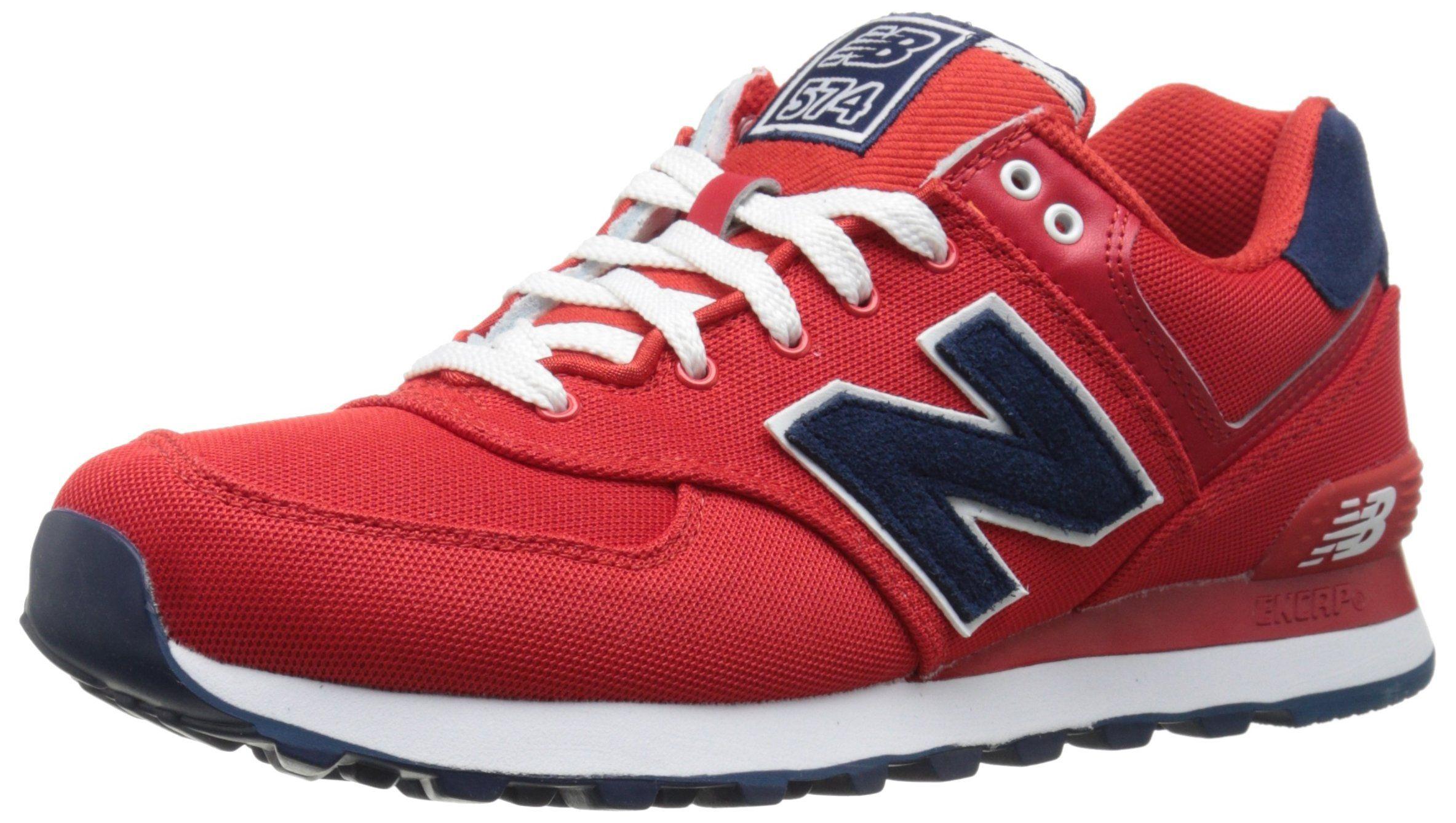 todos los días Fiel Negligencia médica  Amazon.com: New Balance Women's WL574 Pique Polo Collection Running Shoe:  Clothing | New balance walking shoes, New balance, New balance 574