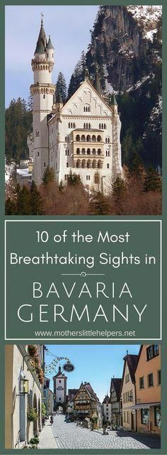 10 Of The Most Breathtaking Sights in Bavaria Germany