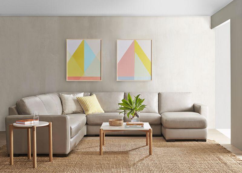 Signature Collection Freedom Furniture Furniture Leather Modular Sofa