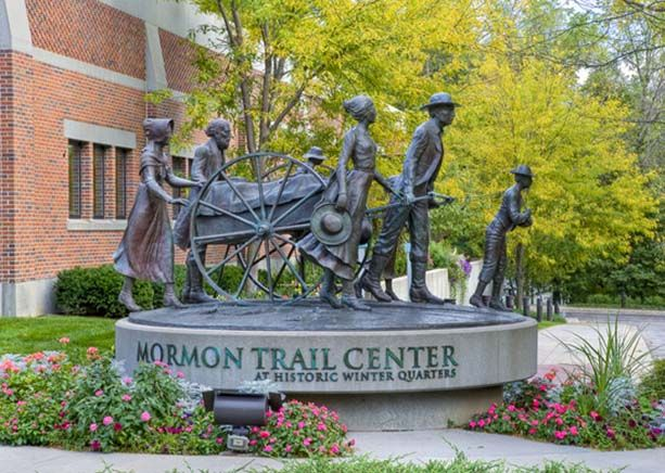 Mormon Trail Center at Historic Winter Quarters - Omaha, Nebraska