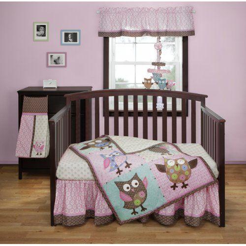 Calico Owls 3 Piece Crib Bedding Set By Bananafish Owl Baby