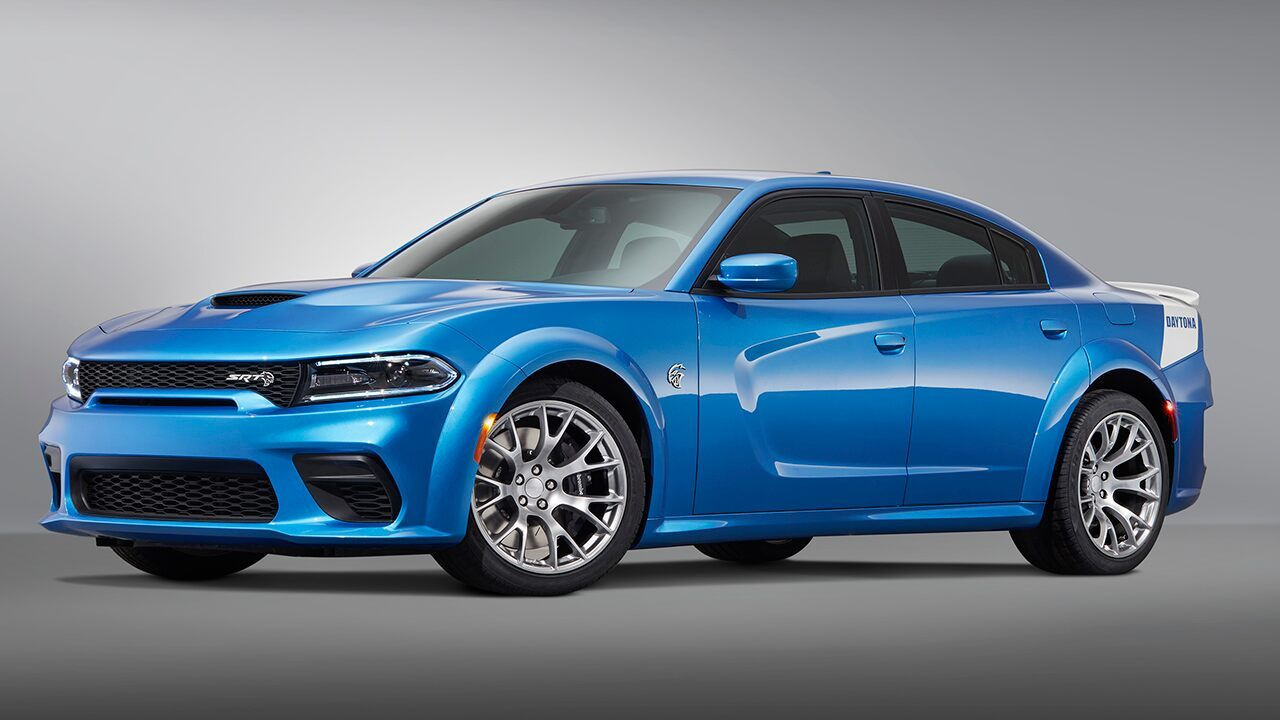 The 2020 Dodge Charger Srt Hellcat Widebody Daytona 50th Anniversary Edition Is The World S Most Powerful Sedan Charger Srt Hellcat Dodge Charger Charger Srt