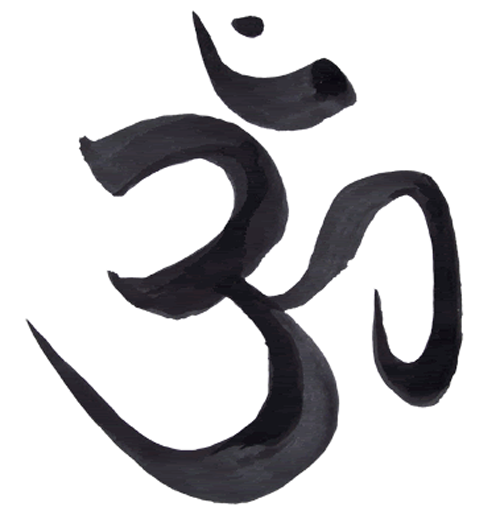 The Om Symbol In Sanskrit Which Has Significance In Buddhism And