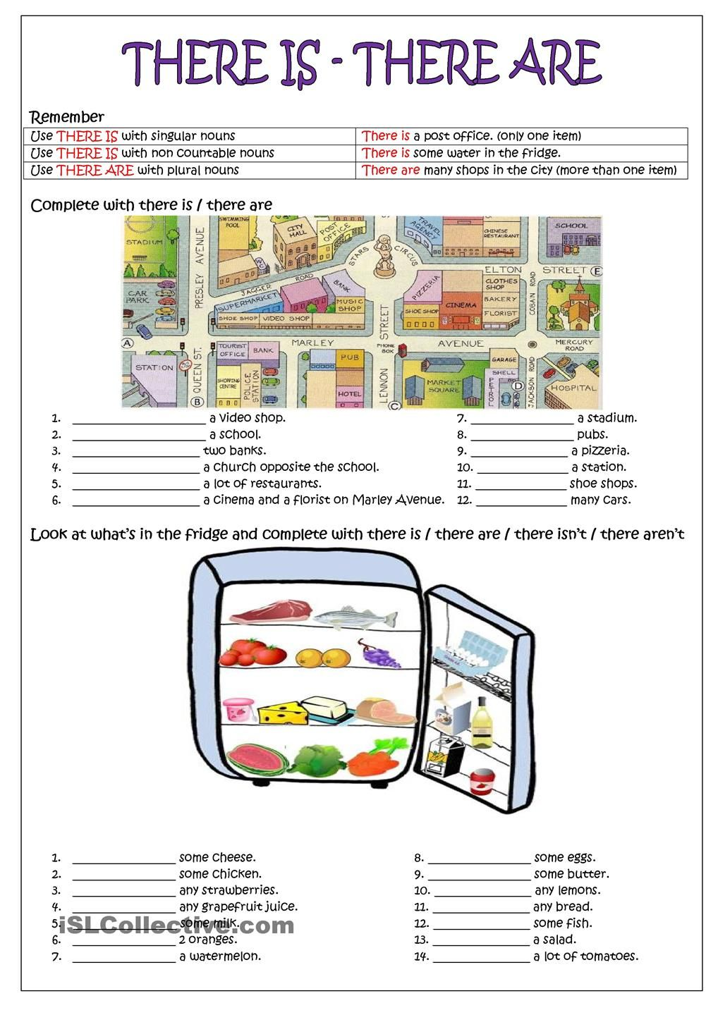 There Is There Are English Teaching Resources English Teaching Materials English Language Teaching