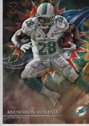 New Listing Started 2014 Topps Valor #88 Knowshon Moreno Team: Miami Dolphins $0.40