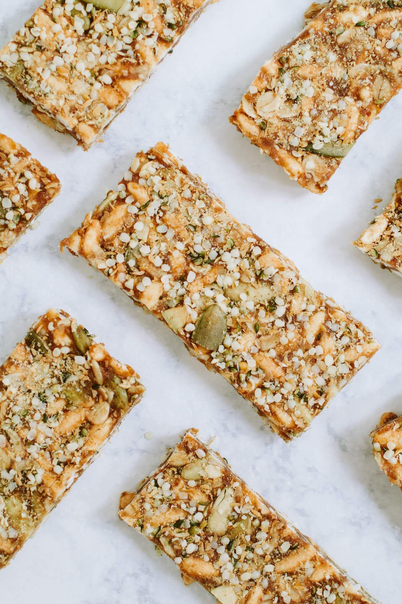 Puffed Rice And Seed Bars Nourished By Nutrition Recipe Healthy Granola Bars Granola Healthy Puffed Rice