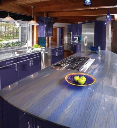 30 Unique Kitchen Countertops Of Different Materials ...